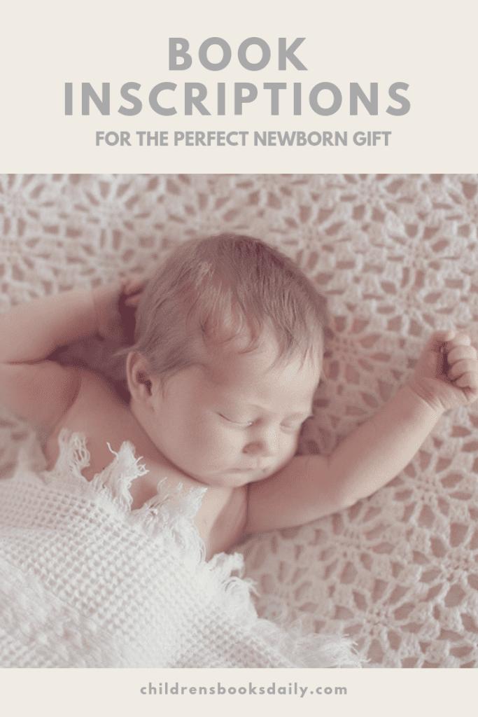 Book Inscriptions: The perfect newborn gift