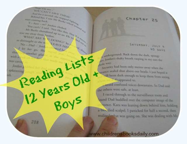 Best books for 12 year olds