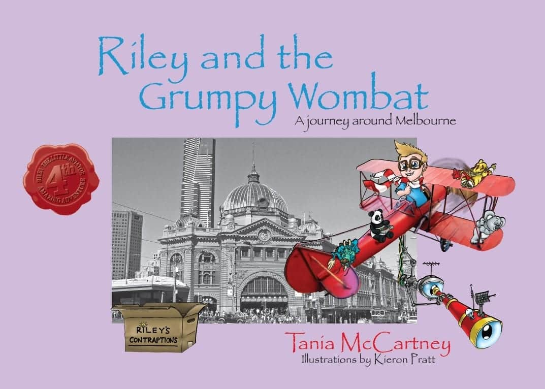 Riley books Grumpy Wombat cover
