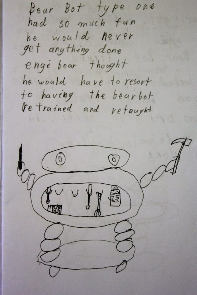 Bearbot Type 1 by Douglas