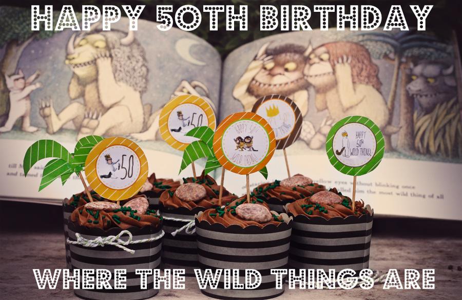 Happy 50th Birthday Wild Thing