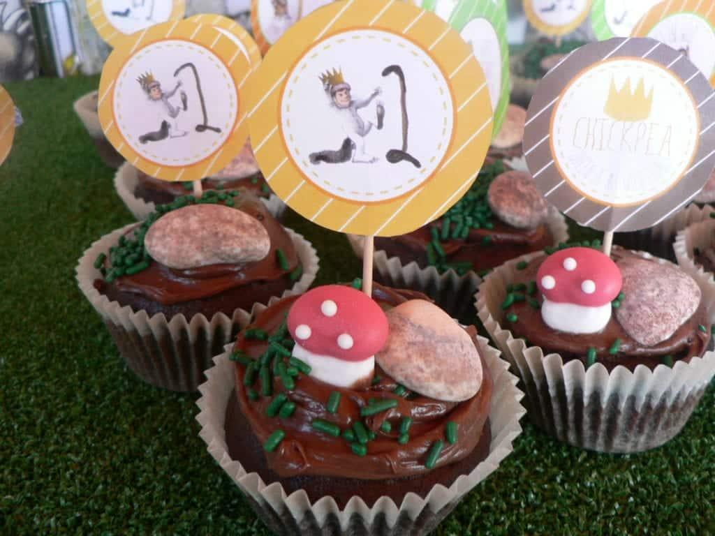 Wild Thing Cupcakes