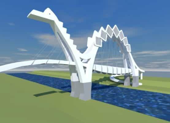 engibears bridge after some development work