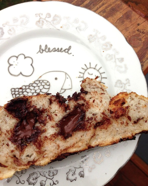 Coconut and Chocolate Bread. Instagram Evidence One.
