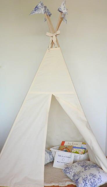 Little Blue Tent
