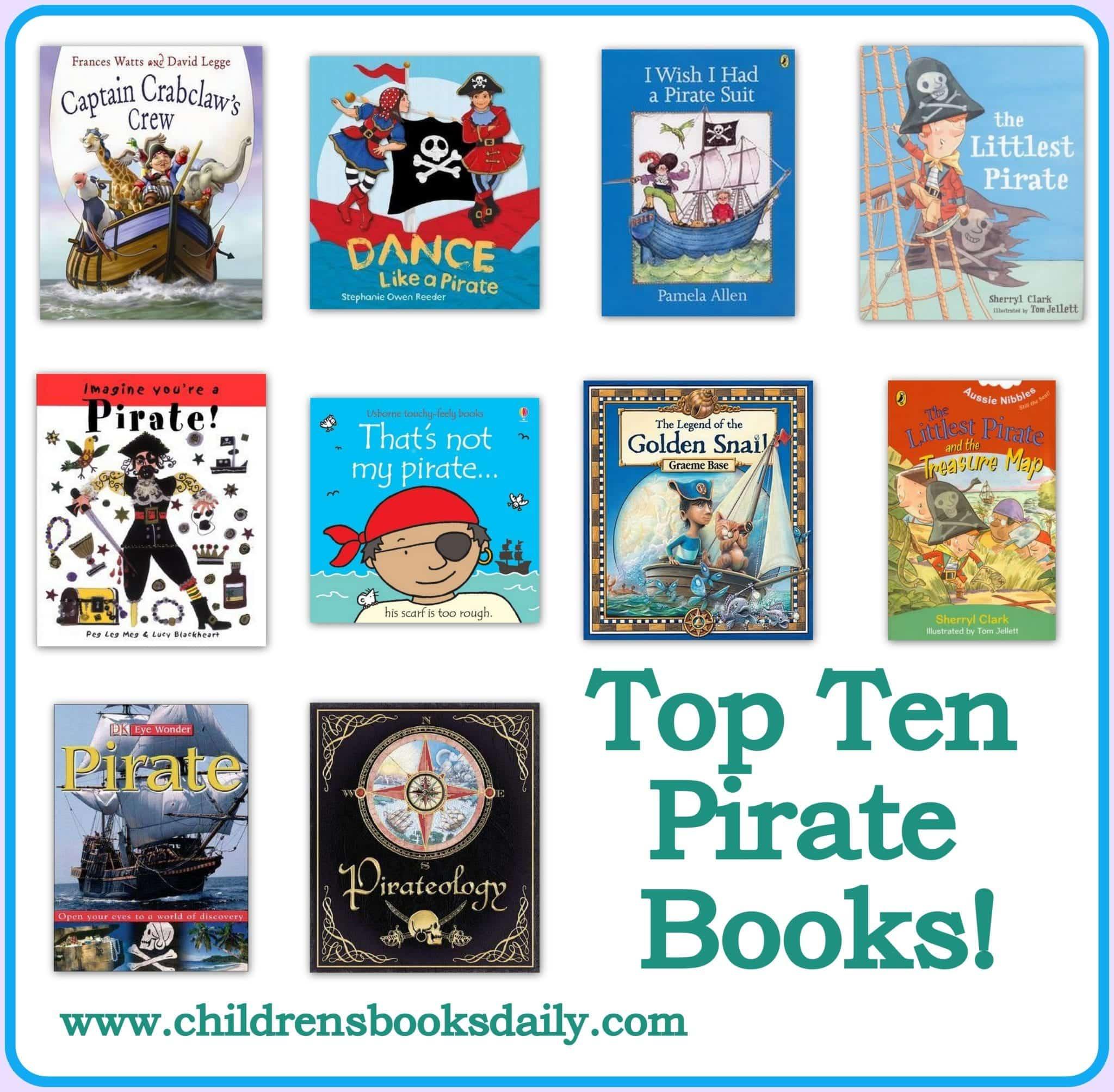 Top Ten Pirate Books Children S Books Daily