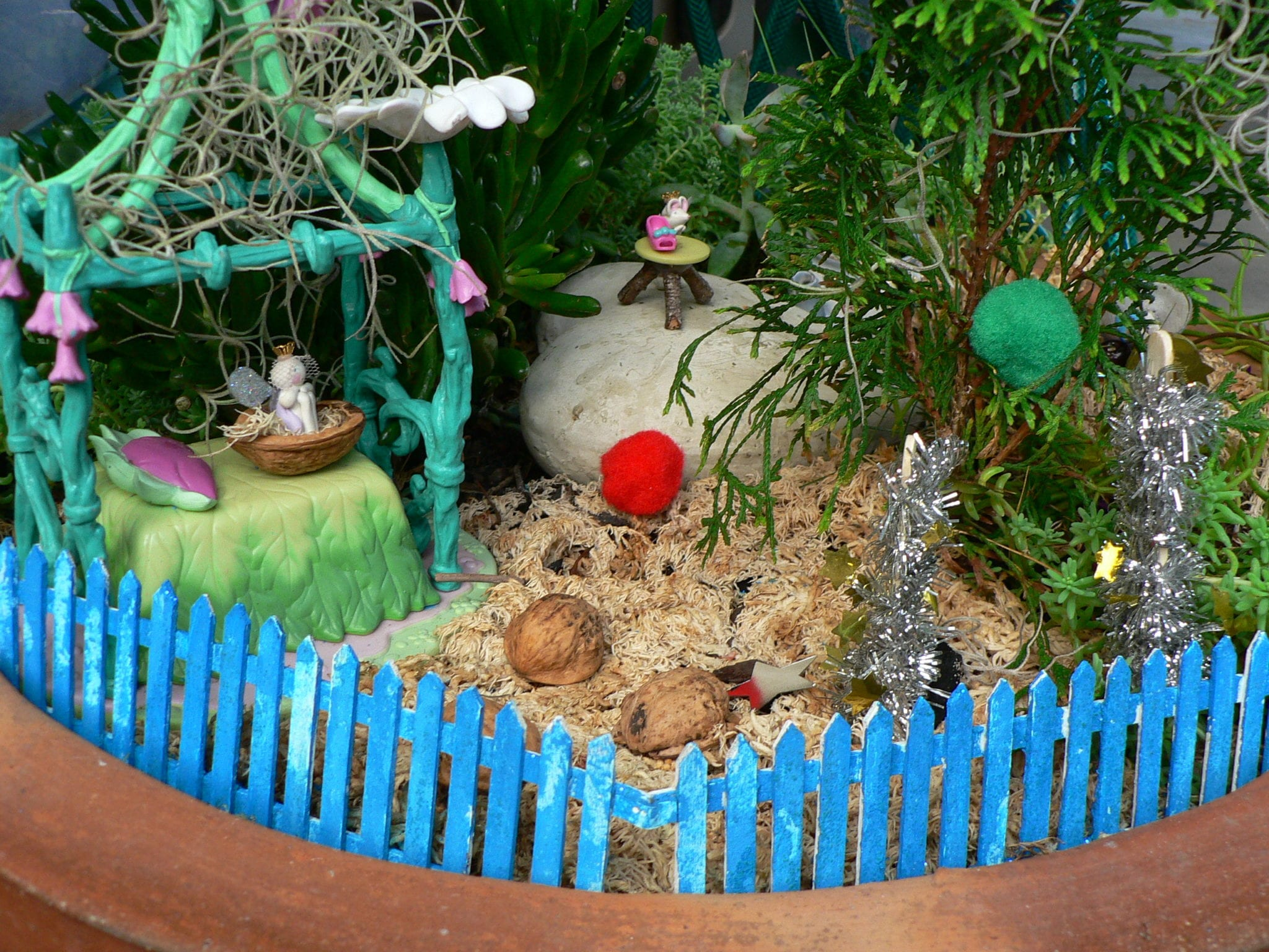 Beautiful Do YOU Have A Fairy Garden Yet? Do You Let Your Children Play With It?