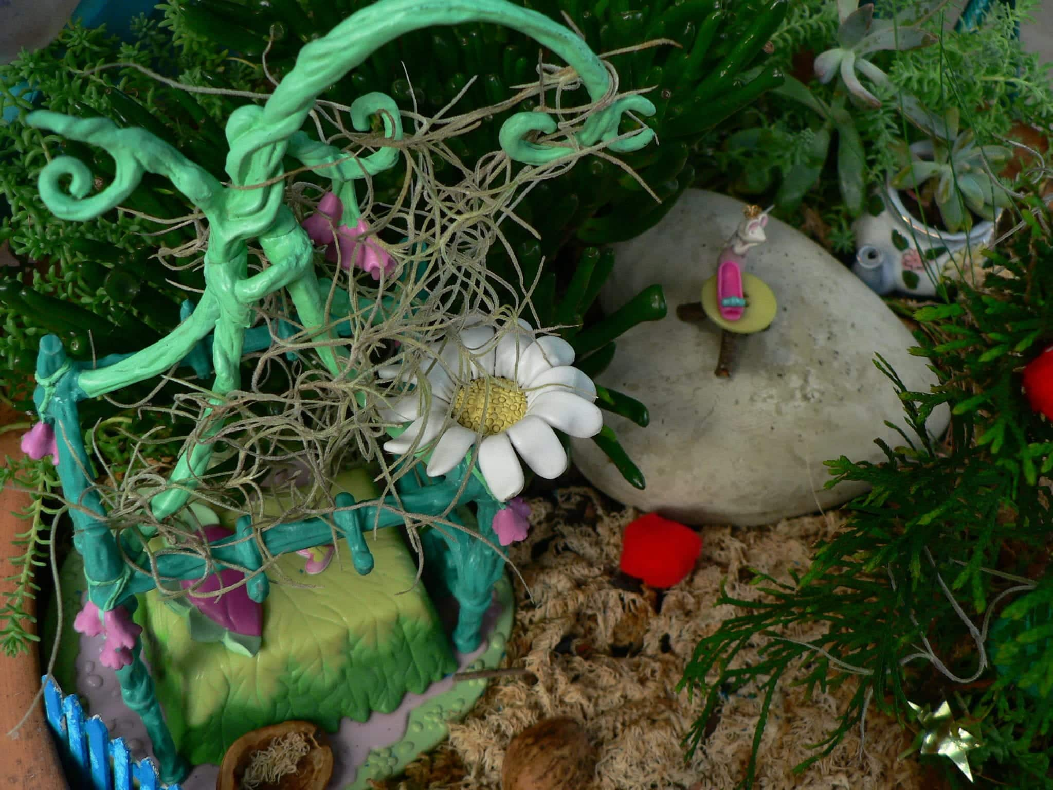 Review of Forget me Not Fairies and a Fairy Garden Update