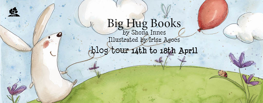 Big Hug Books blog tour banner