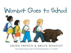 Jackie French - Wombat Goes To School