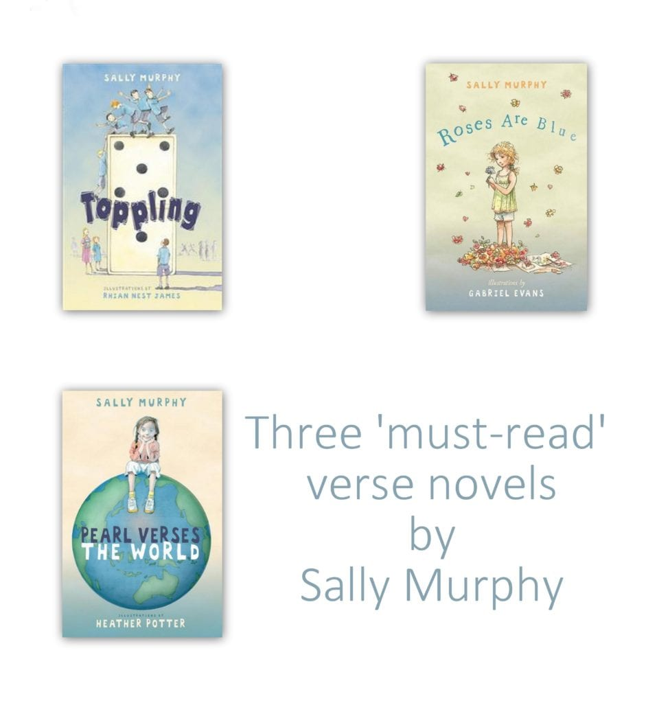 Three must read verse novels by Sally Murphy