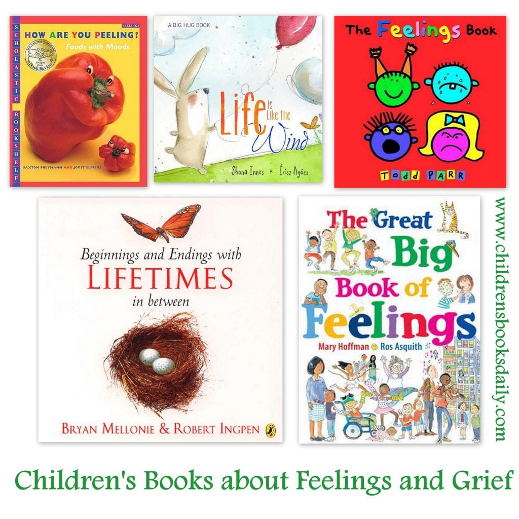 Children's Books about Feelings and Grief - Children's