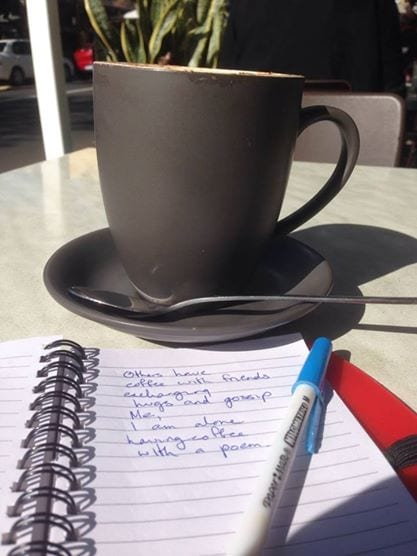 coffee and poem