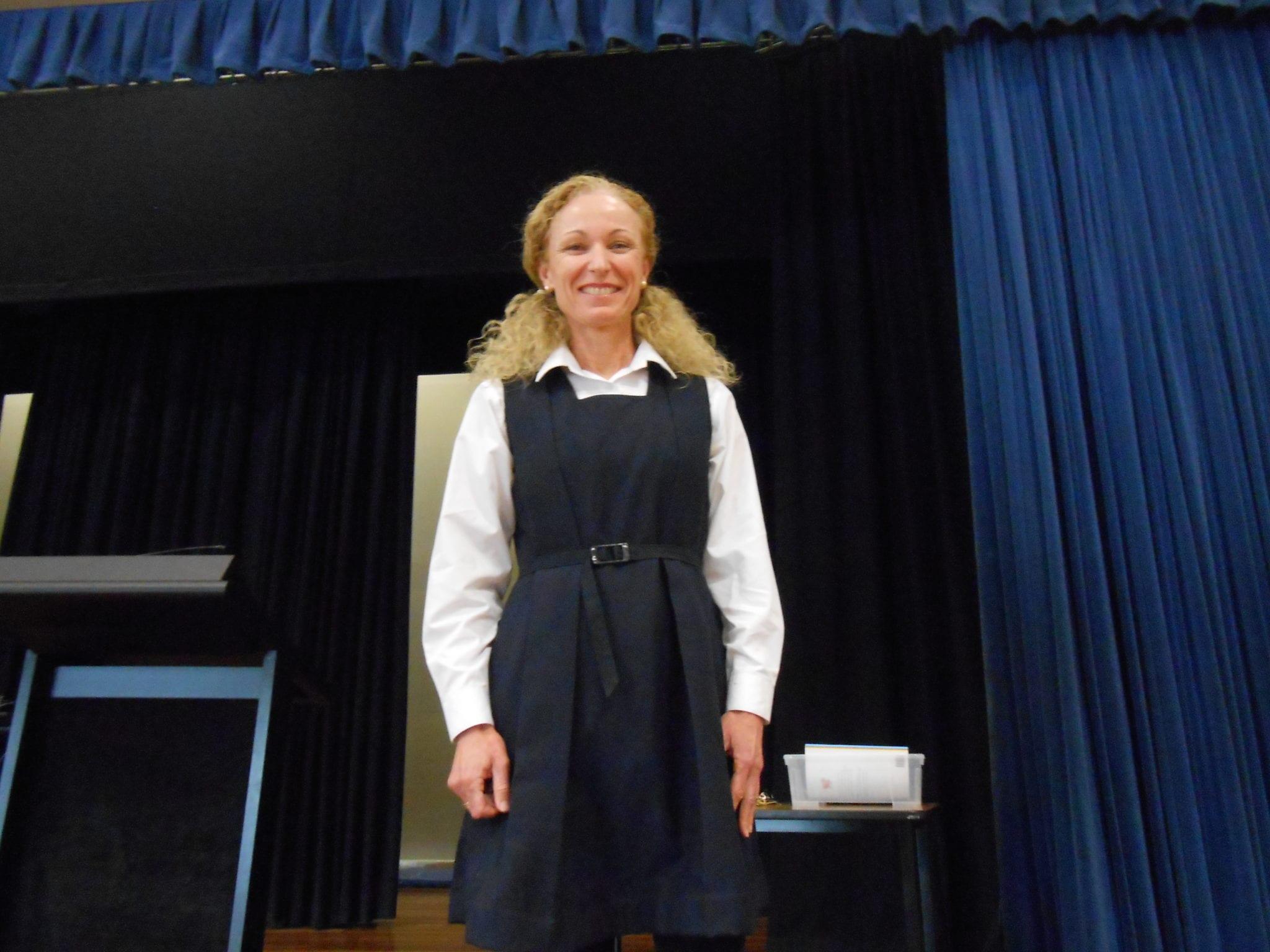 Book Week costume idea - school principal