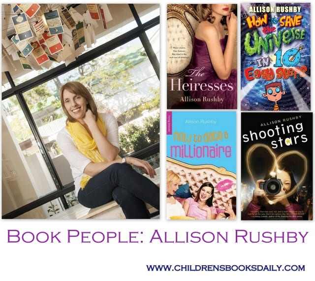 Book People: Allison Rushby