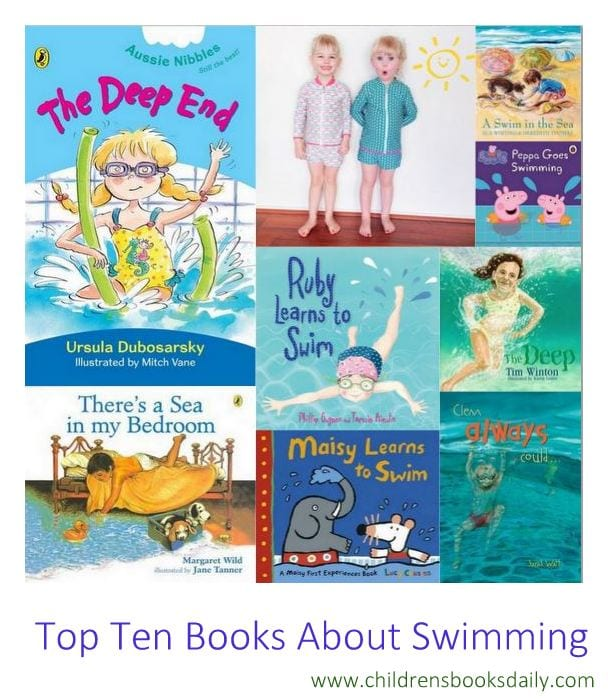 Top Ten Books About Swimming for Children