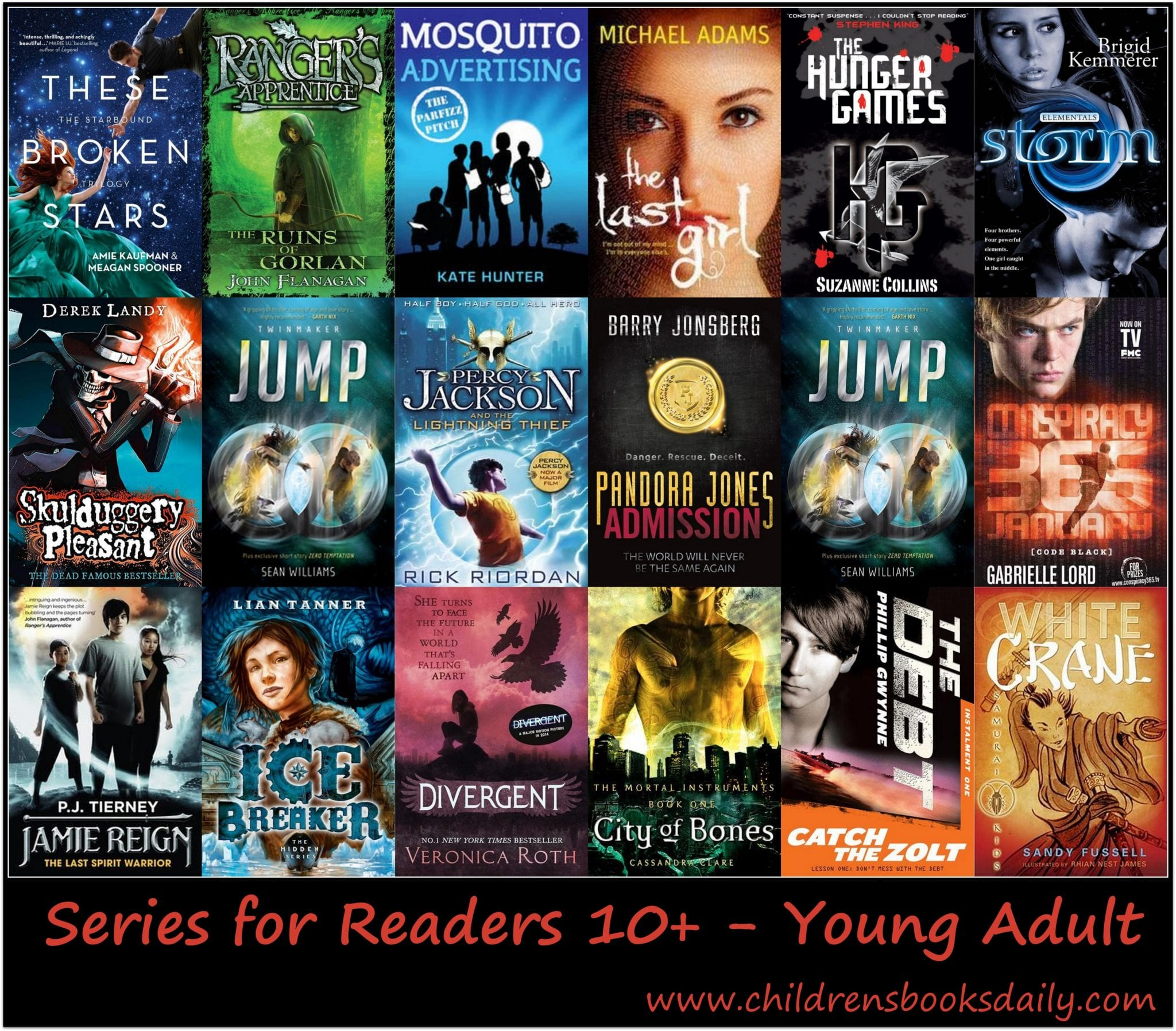 Series For Readers Age 10 Young Adult Children S Books Daily