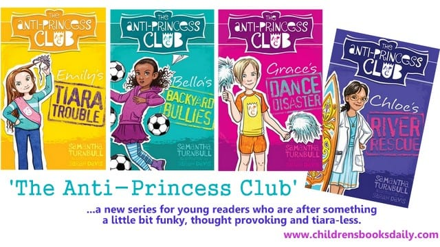 Anti-Princess Club Books