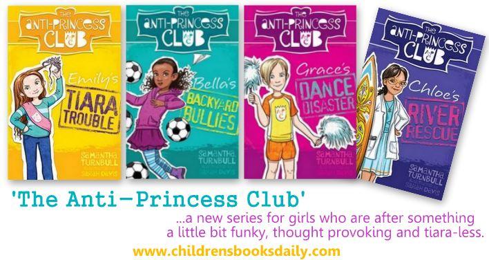 The Anti-Princess Club Series Samantha Turnbull
