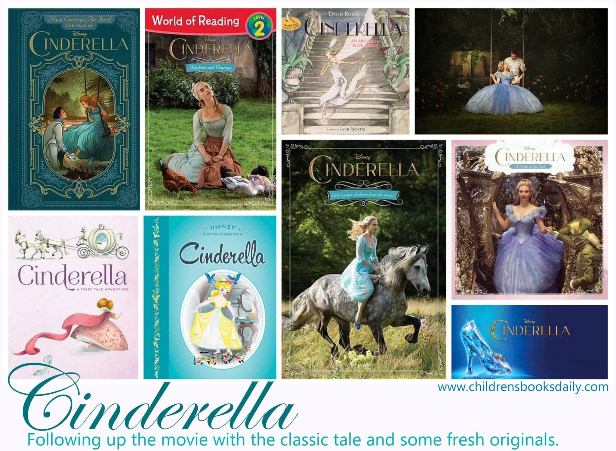 Cinderella: The Movie The Books