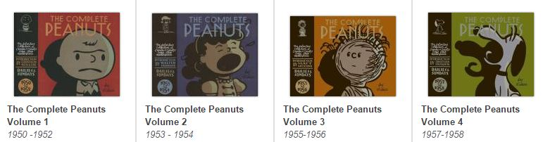 The Complete Peanuts 1 to 4