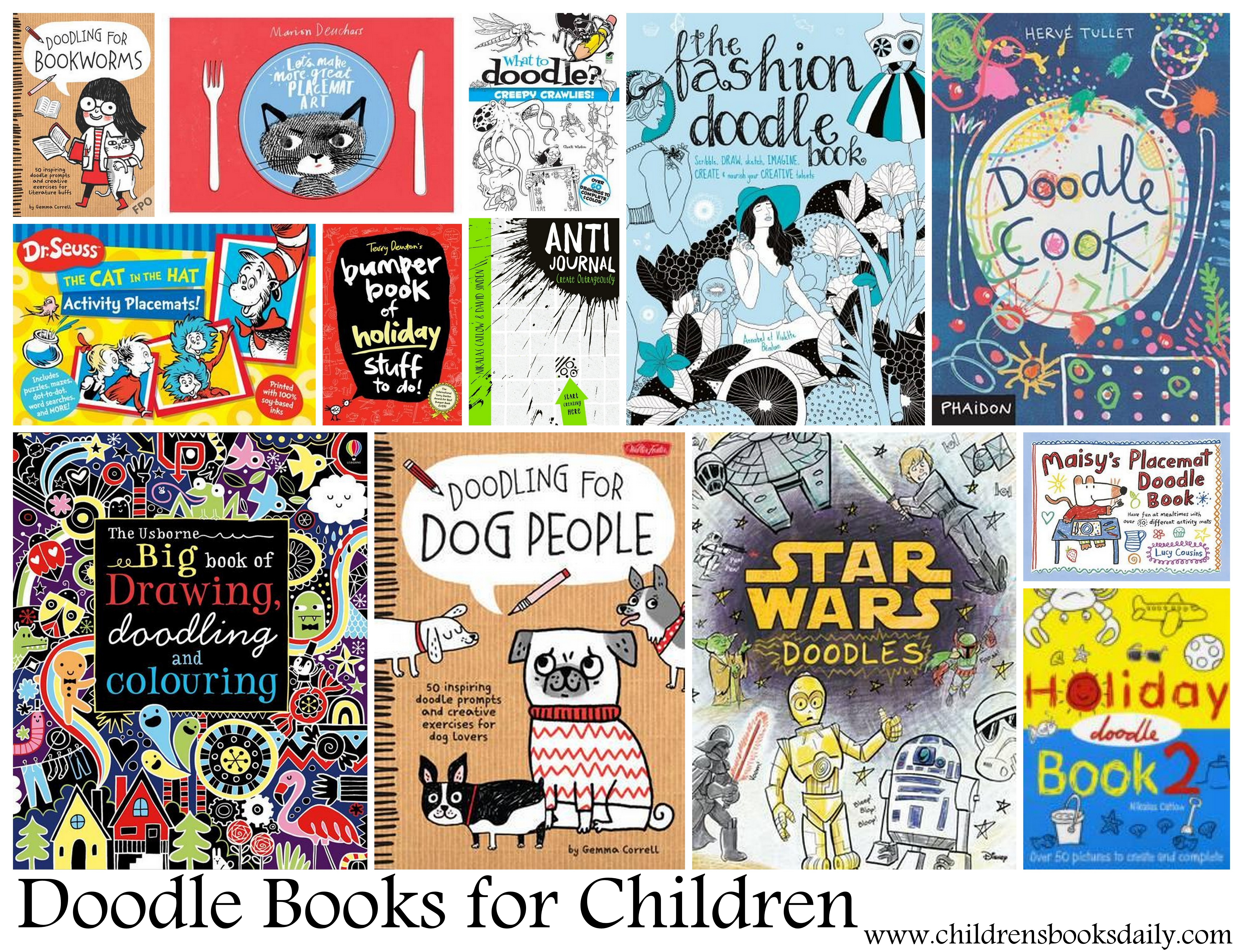 doodle books for children