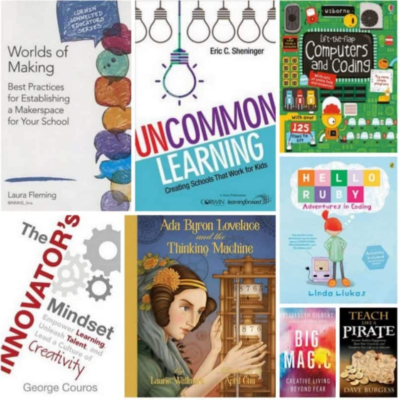 Coding and Makerspace Books