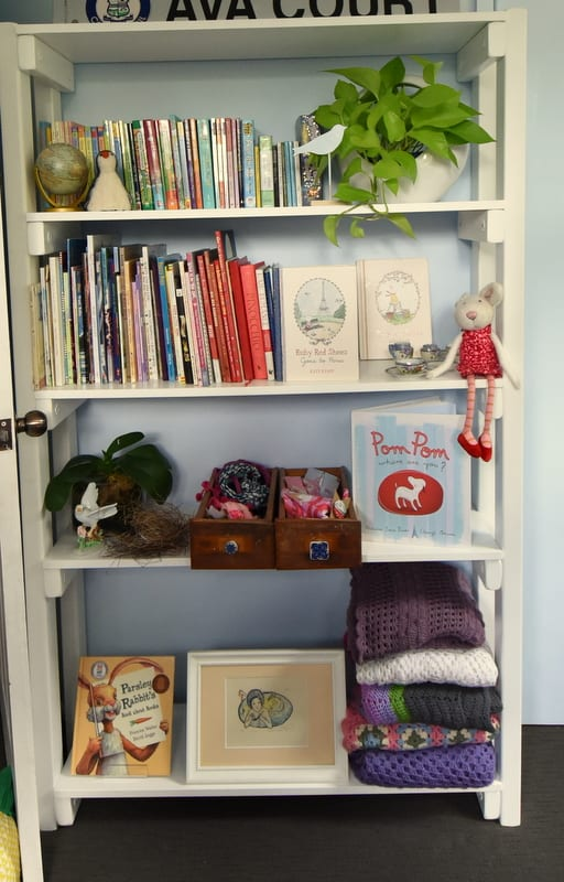 bunkers bookshelf