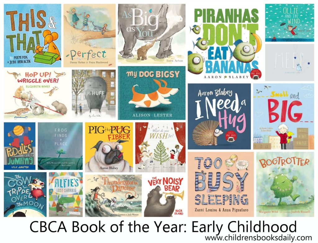 2016 Book of the Year: Early Childhood
