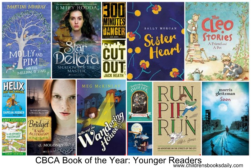 2016 BOTY Younger Readers