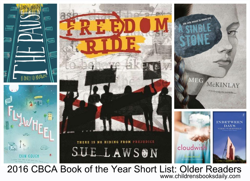 2016 CBCA Book of the Year Short List Older Readers