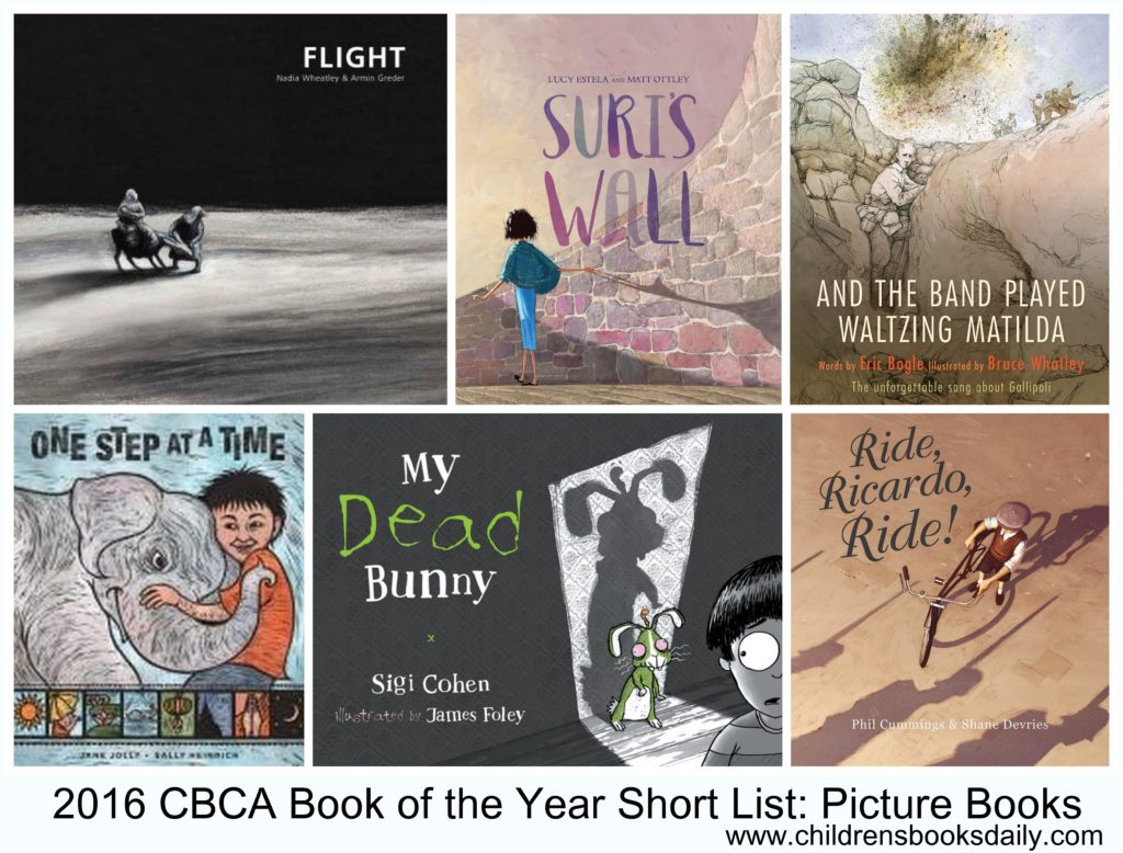 2016 CBCA Book of the Year Short List Picture Books