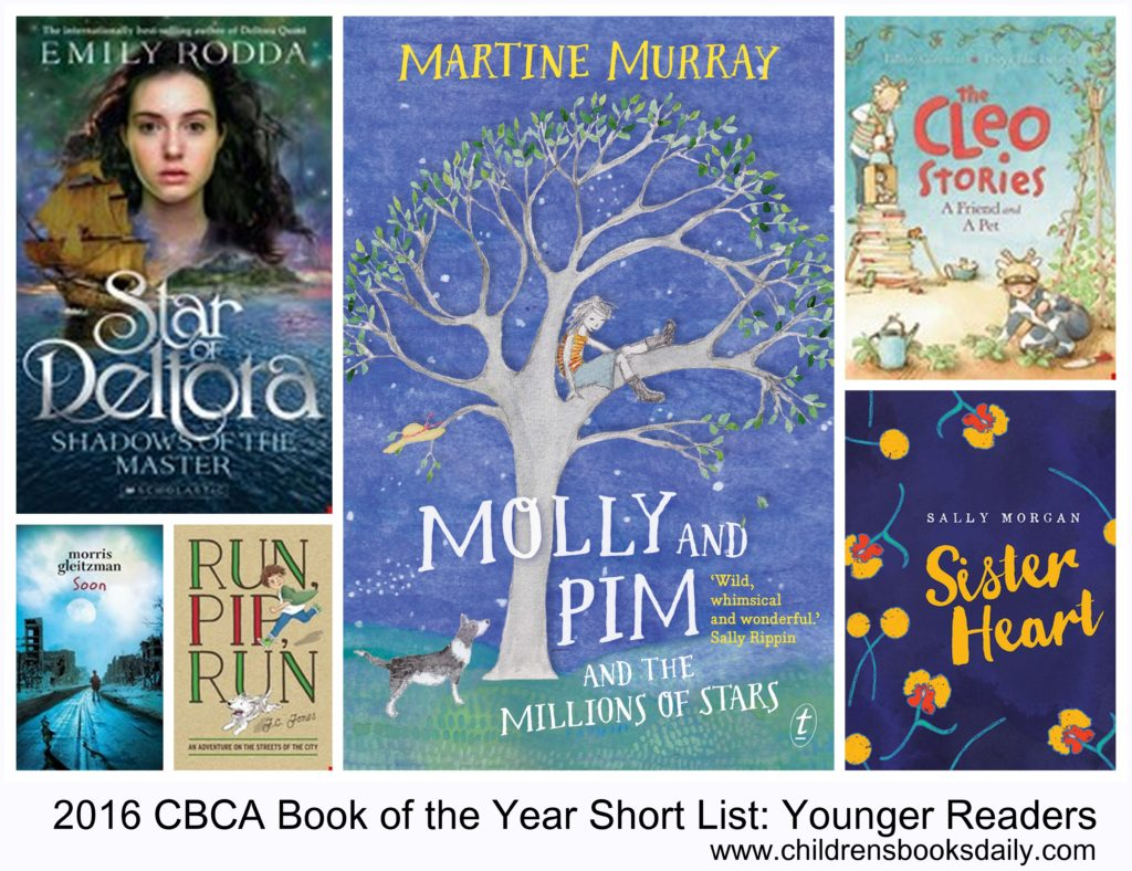 2016 CBCA Book of the Yeat Younger Readers
