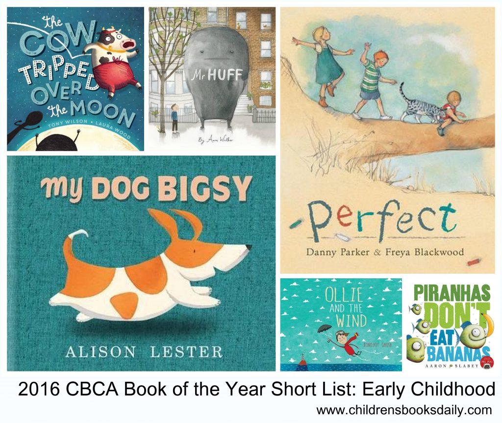 2016 CBCA Short List Early Childhood