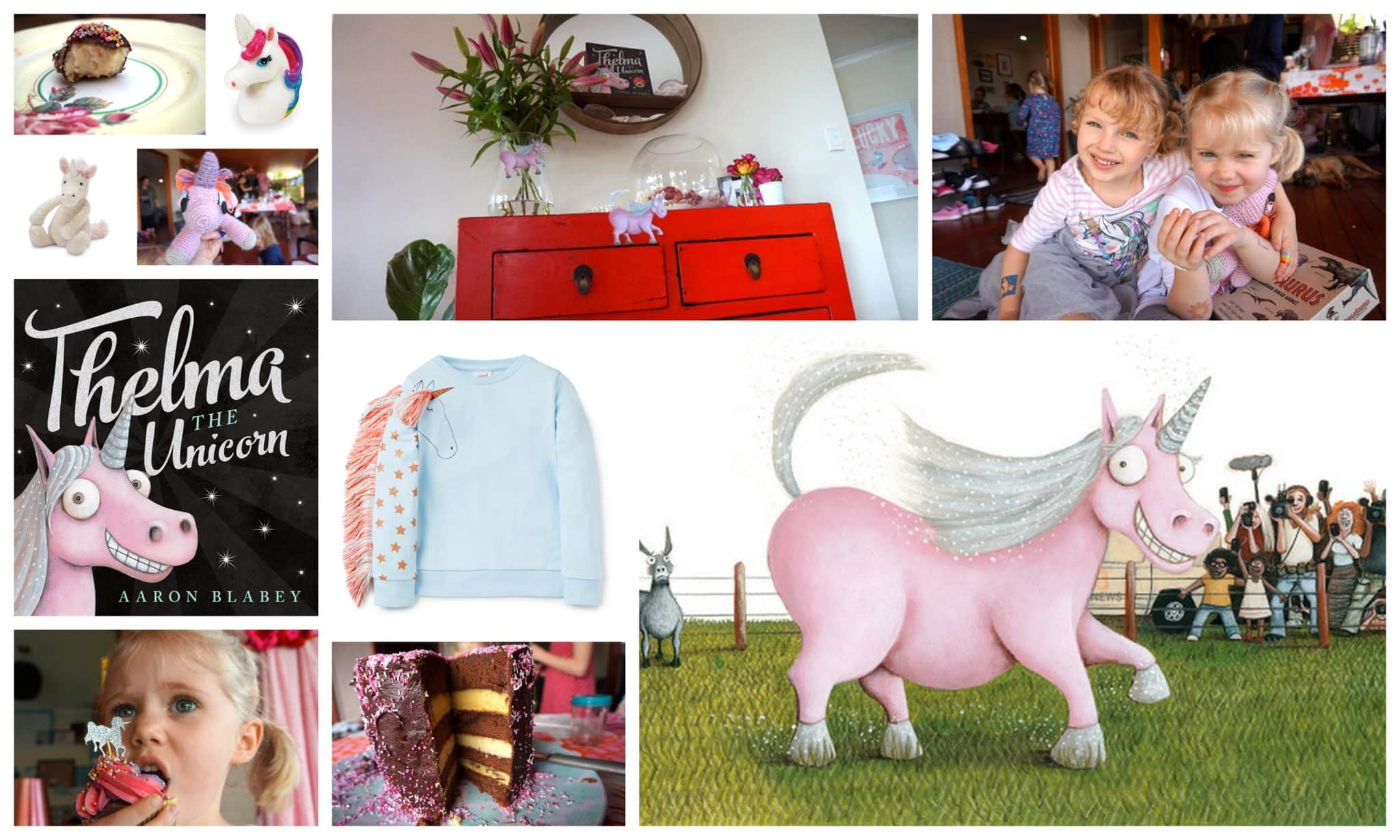 Thelma the Unicorn Book Party