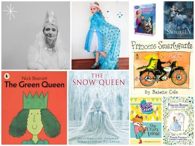 Book Week Costumes Crowns for Queens