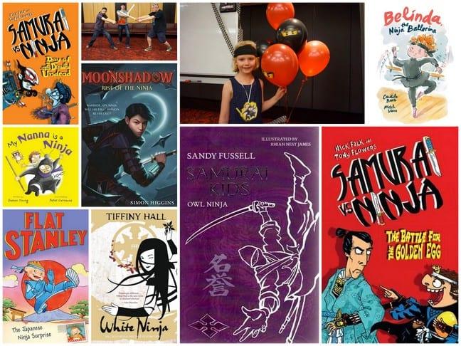 Book Week Cosumes Ninja