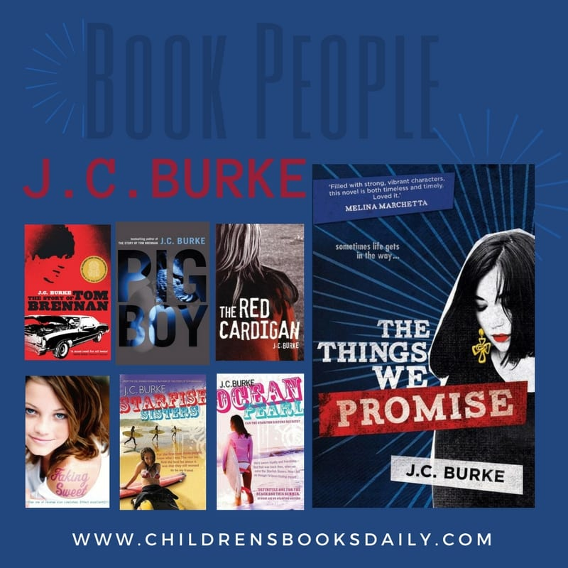 JC BURKE book people
