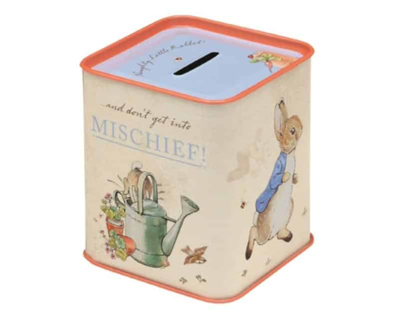 Easter gifts part three peter rabbit childrens books daily lime tree kids have some super cute tins we have the little egg shaped one pictured on their site negle Image collections