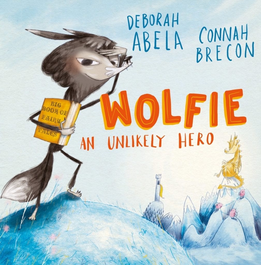 Wolfie by Deborah Abela, a picture book