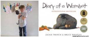 Book Week Costume Ideas: Diary of a Wombat
