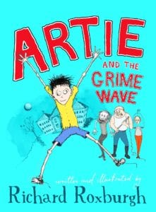 Kid book review: Artie and the Grime Wave