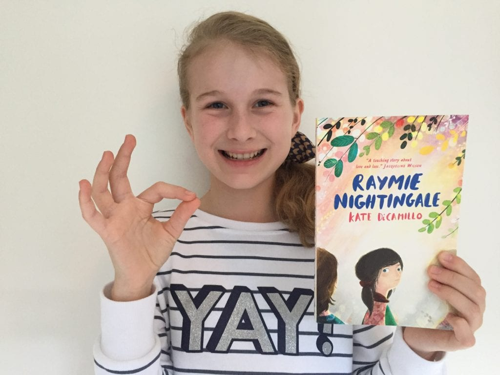 Book review of Raymie Nightingale by a kid book blogger