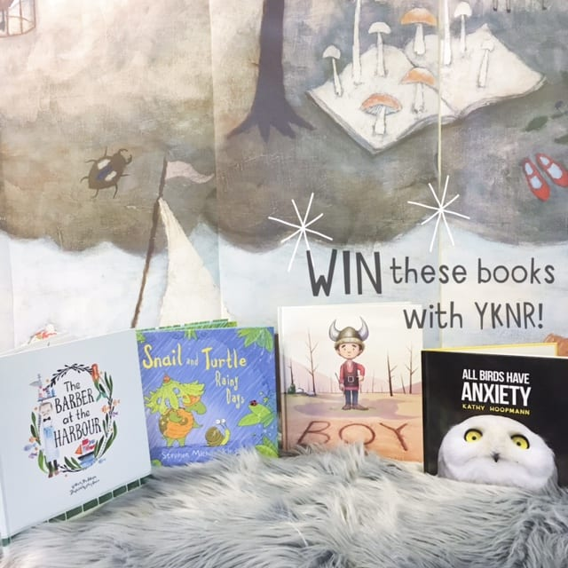 Win a book pack with your kid's next read