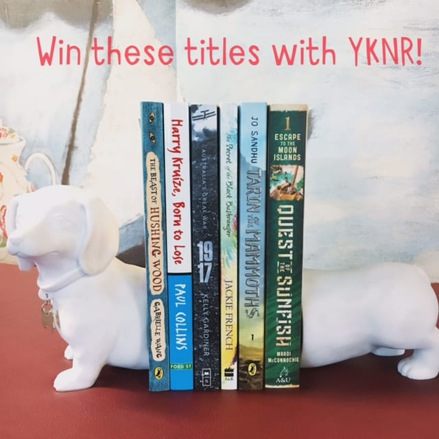 WIN A BOOK PACK WITH YOUR KID'S NEXT READ.
