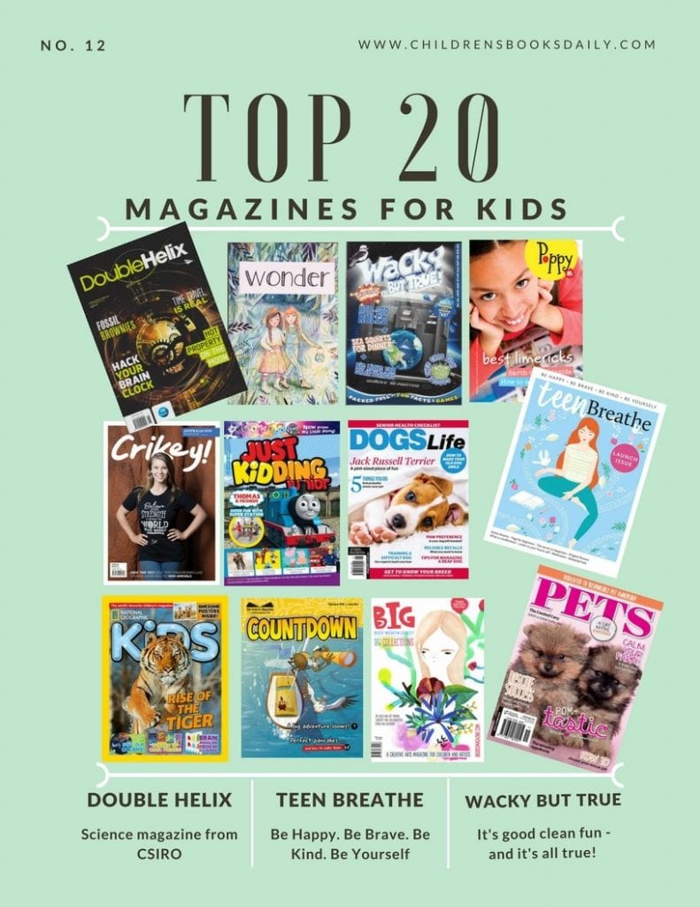 Top 20 magazines for kids
