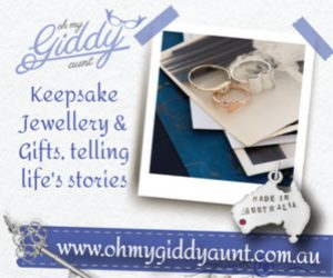 Enter code CBD on any Oh My Giddy Aunt purchase to receive a free silver charm.
