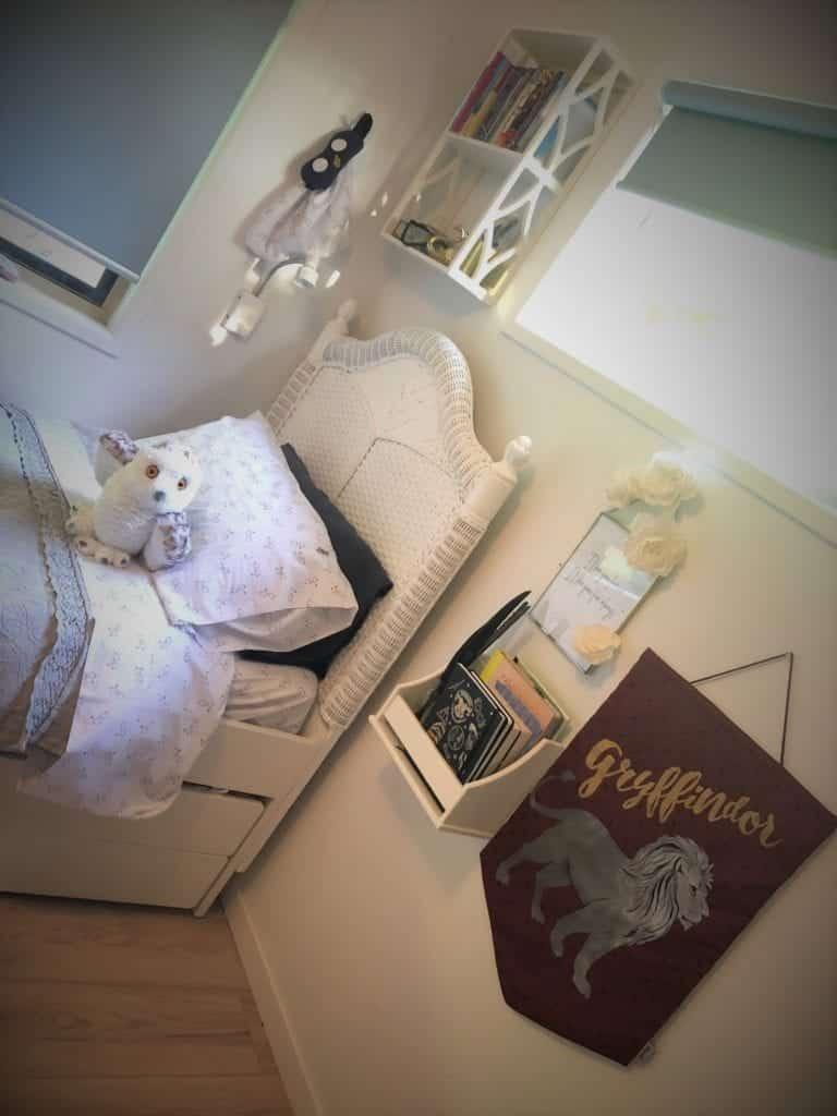 Harry Potter-themed bedroom