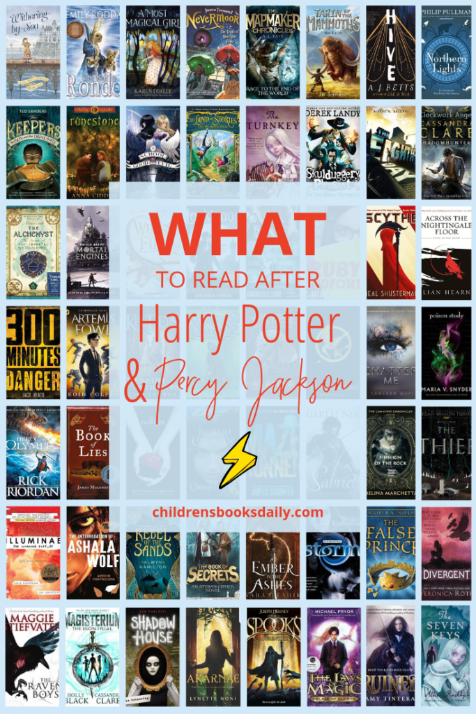 What to Read After Harry Potter and Percy Jackson