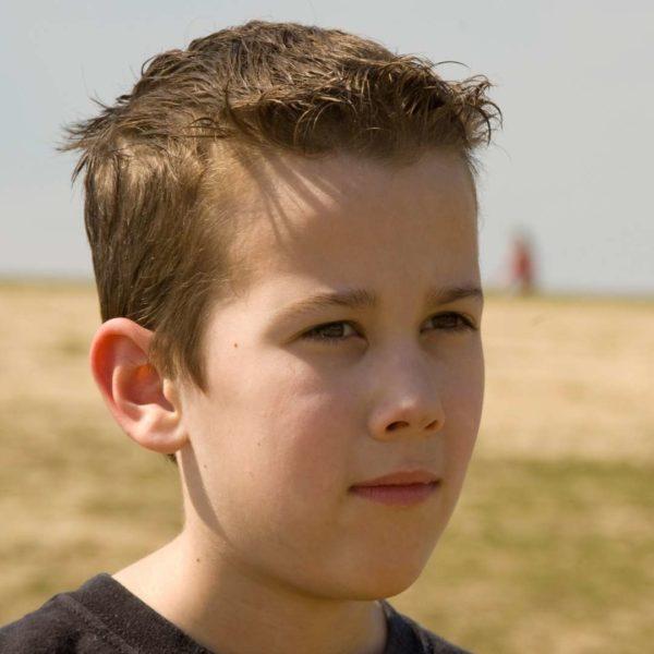 Toxic masculinity - Boy on farm.